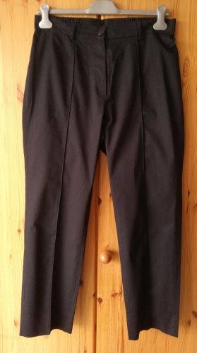 Ulla Popken Jersey Pants dark blue