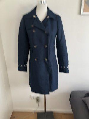 Nachtblauer leichter Mantel
