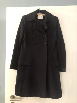 bzr Wollen jas donkerblauw