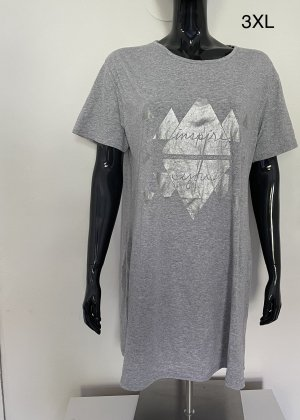 Robe de chambre gris