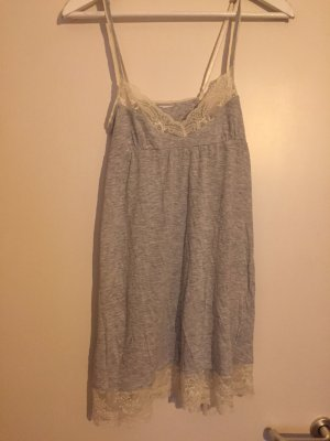 H&M House-Frock light grey-white