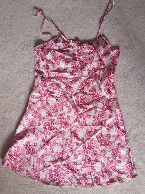 Identic Negligé blanco-rosa