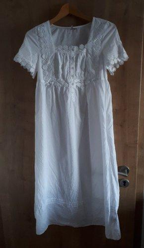 TK Maxx Vestido para casa blanco Algodón