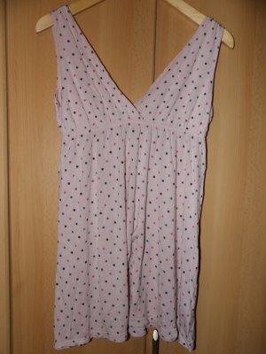 Nachthemd Negligee Punkte H&M S 36
