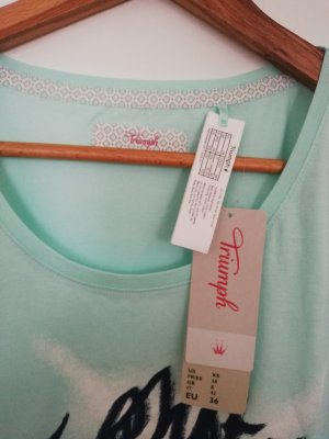 Triumph Pyjama light blue-turquoise
