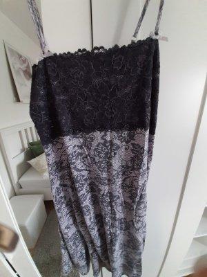 Hunkemöller Pijama gris oscuro-malva
