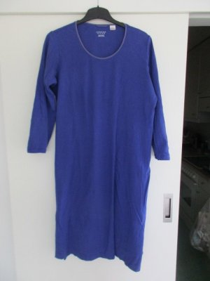Lands' End House-Frock blue cotton