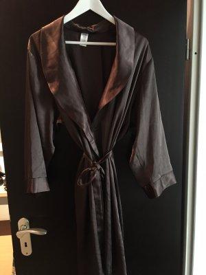 Robe de nuit brun foncé polyester