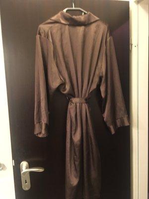 Night Coat dark brown polyester