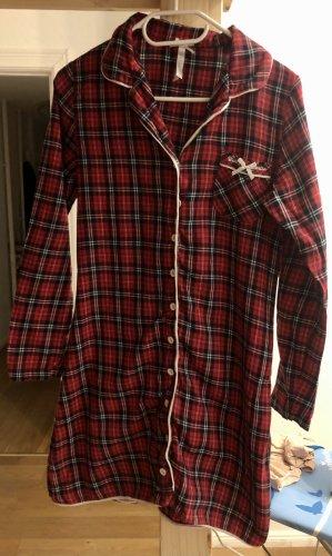 Louis & Louisa Pyjama zwart-donkerrood