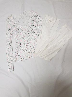 woman secret Pyjama natural white cotton
