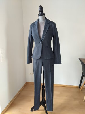 Mango Trouser Suit dark blue