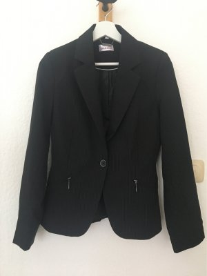 Biaggini Jersey Blazer black-white