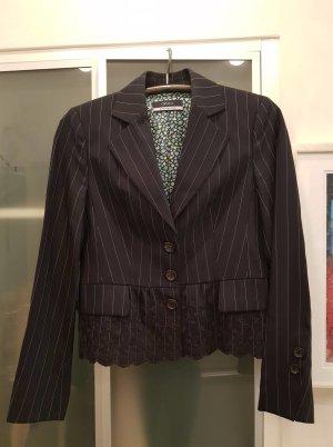 Orwell Tweed blazer veelkleurig Viscose