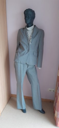 Pinstripe Suit silver-colored