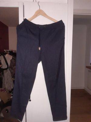 H&M Pantalon en jersey bleu