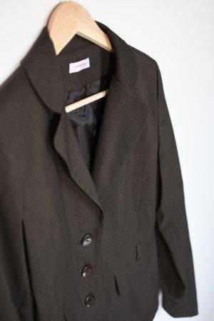 Orsay Zakelijk pak grijs-bruin-wit Gemengd weefsel