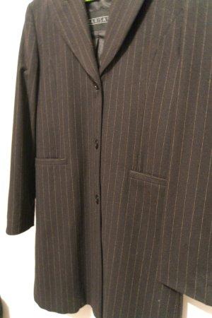 Nadelstreifen Mantel Wolle Vintage