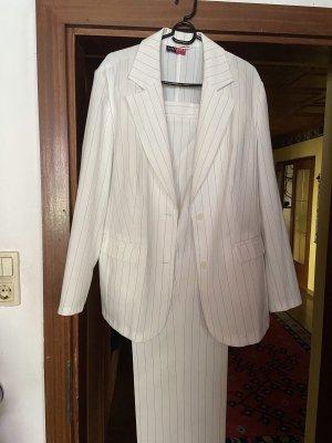 Aguzzo Costume business blanc cassé