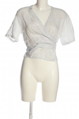 Nadine H. Wraparound Blouse white casual look