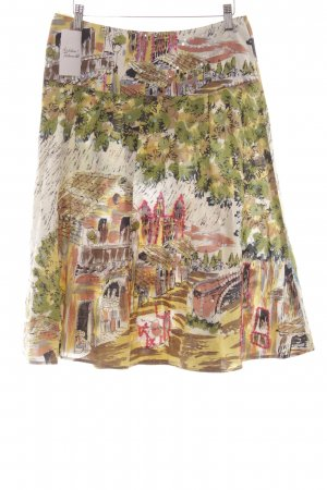 Nadine H. Plaid Skirt mixed pattern extravagant style