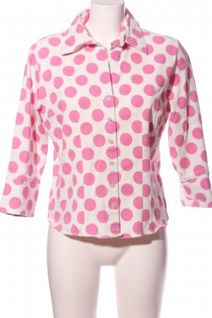 Nadine H. Shirt Blouse natural white-pink spot pattern casual look