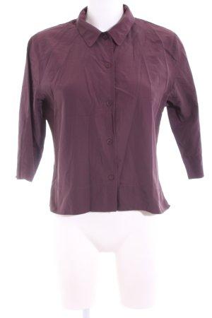 Nadine H. Hemd-Bluse lila Casual-Look