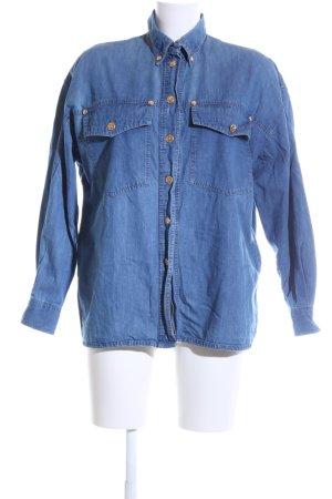 Nadine H. Jeansbluse blau Casual-Look