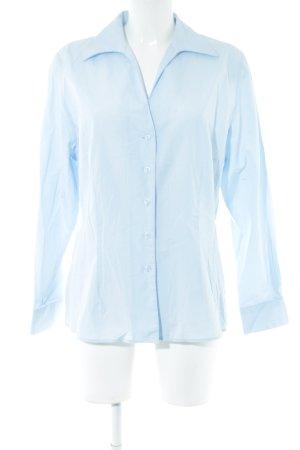 Nadine H. Langarm-Bluse himmelblau Business-Look