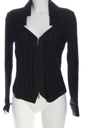 Nadine H. Veste chemise noir style décontracté