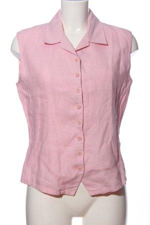Nadine H. ärmellose Bluse pink Business-Look