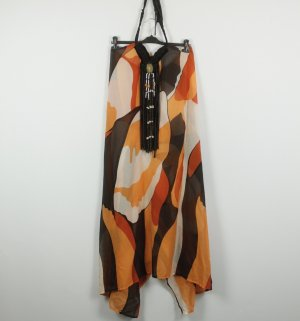 Nadine Neckholder-Kleid Gr. OS braun orange