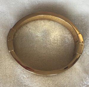 NÄCHSTER WEG FLOHMARKT +++ MICHAEL KORS Armreif Armspange Armband gold