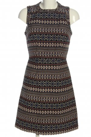 Naf naf A-Linien Kleid Allover-Druck Casual-Look