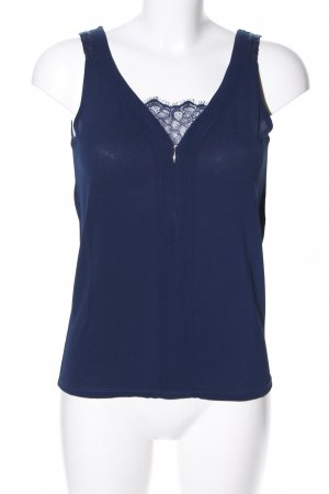 Naf naf ärmellose Bluse blau Casual-Look