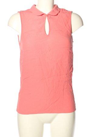 Naf naf Blusa sin mangas rosa look casual
