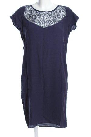 Naf naf Blusenkleid blau Casual-Look