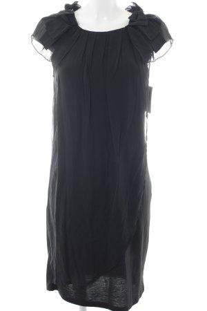Naf naf Chiffonkleid schwarz Elegant