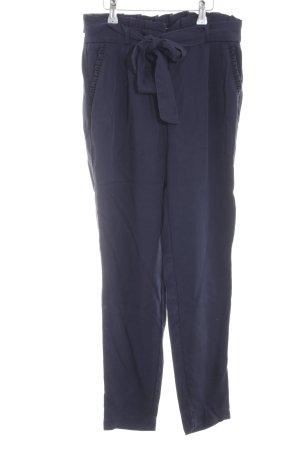 Naf naf Pantalon chinos bleu style d'affaires