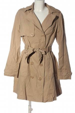 Naf naf Dufflecoat braun Business-Look