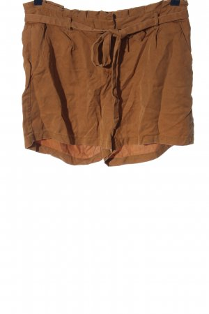 Naf naf High-Waist-Shorts braun Casual-Look