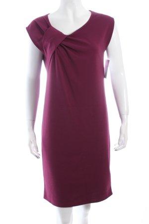 Naf naf Jerseykleid violett Business-Look