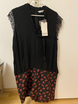Naf naf Tailleur-pantalon noir-rouge
