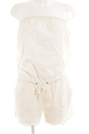 Naf naf Jumpsuit creme Casual-Look