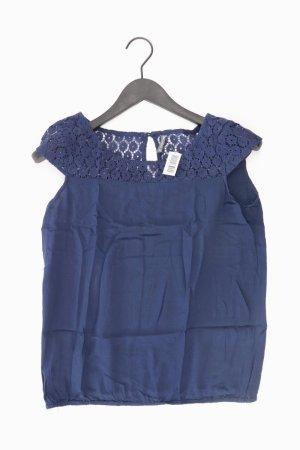 Naf naf Short Sleeved Blouse blue-neon blue-dark blue-azure cotton
