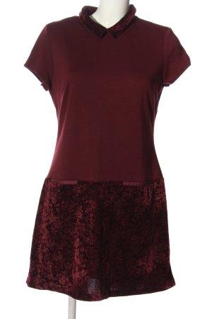 Naf naf Robe à manches courtes rouge style décontracté