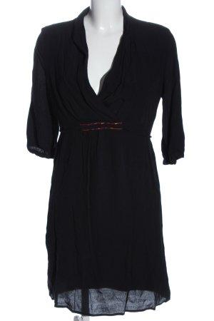 Naf naf Robe à manches courtes noir style décontracté