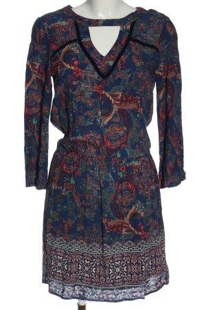 Naf naf Sukienka z długim rękawem Na całej powierzchni W stylu casual