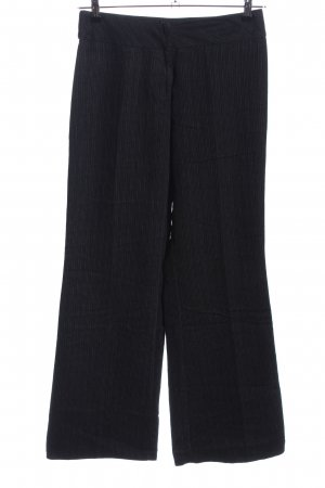 Naf naf Pantalon Marlene noir motif rayé style d'affaires