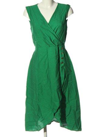 Naf naf Robe mi-longue vert style décontracté
